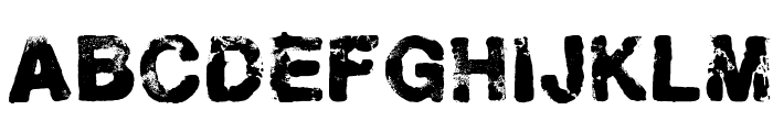 Helveticrap Font LOWERCASE