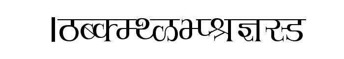 Hemant Font UPPERCASE