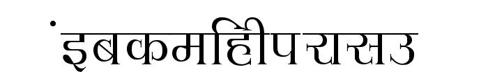 Hemant Font LOWERCASE