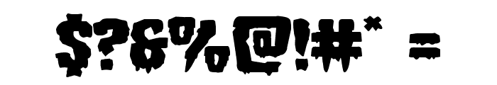 Hemogoblin Expanded Font OTHER CHARS