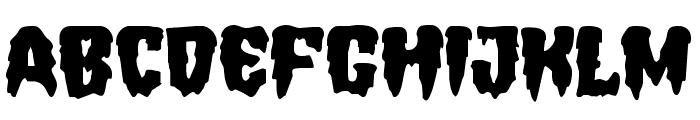 Hemogoblin Expanded Font UPPERCASE