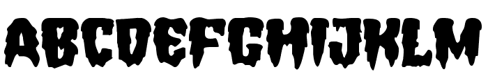 Hemogoblin Expanded Font LOWERCASE