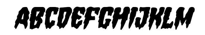 Hemogoblin Italic Font UPPERCASE