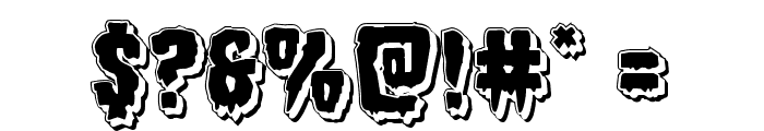 Hemogoblin Punch Font OTHER CHARS