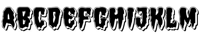 Hemogoblin Punch Font UPPERCASE