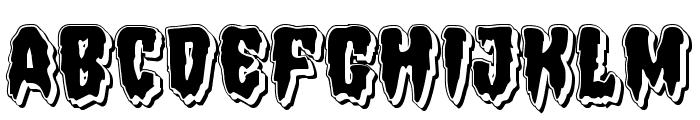 Hemogoblin Punch Font LOWERCASE