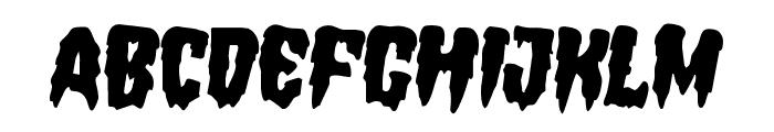 Hemogoblin Rotated 2 Font UPPERCASE