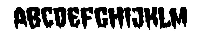Hemogoblin Rotated Font LOWERCASE