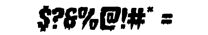 Hemogoblin Semi-Italic Font OTHER CHARS