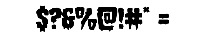 Hemogoblin Staggered Font OTHER CHARS