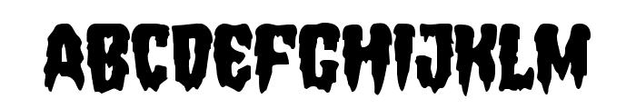 Hemogoblin Staggered Font LOWERCASE