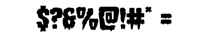 Hemogoblin Font OTHER CHARS