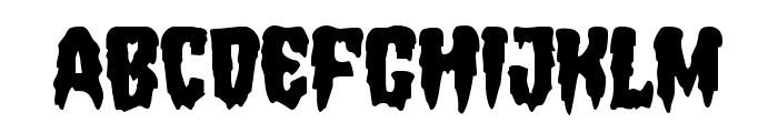 Hemogoblin Font UPPERCASE