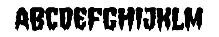 Hemogoblin Font LOWERCASE