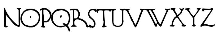 Hendershot Font UPPERCASE