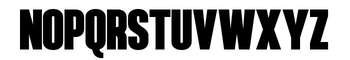 Hennigar Font UPPERCASE