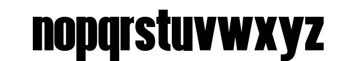Hennigar Font LOWERCASE