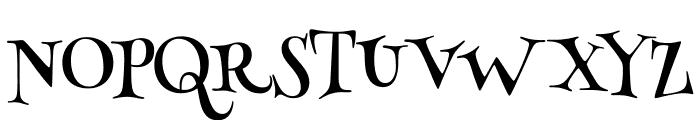 HennyPenny-Regular Font UPPERCASE