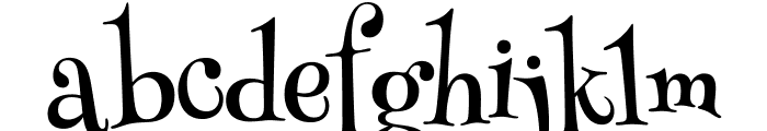 HennyPenny-Regular Font LOWERCASE