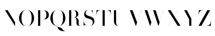HenriDidot Font UPPERCASE