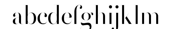 HenriDidot Font LOWERCASE