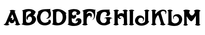 Henry Morgan Font UPPERCASE
