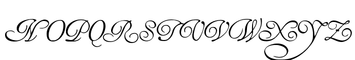 HenryMorganHand Font UPPERCASE