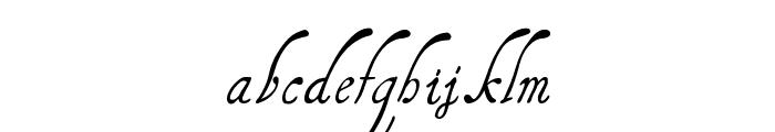 HenryMorganHand Font LOWERCASE