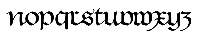 HentimpsCirclet Font LOWERCASE
