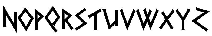 Herakles Font UPPERCASE