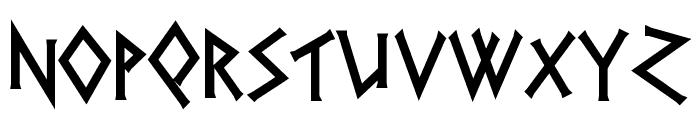 Herakles Font LOWERCASE