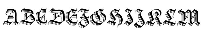 Hermann-Gotisch Font UPPERCASE