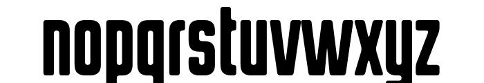 HermanoAlto Round Font LOWERCASE