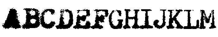 Hermes Rocket Font UPPERCASE