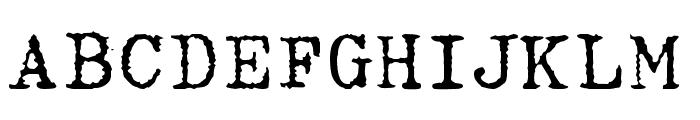Hermes Font UPPERCASE