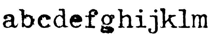 Hermes Font LOWERCASE