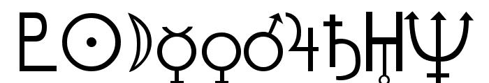 Hermetic Regular Font OTHER CHARS