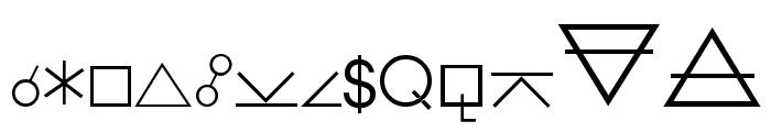 Hermetic Regular Font UPPERCASE