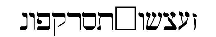 Hermetic Regular Font LOWERCASE