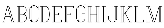 Hermione-Regular Font UPPERCASE