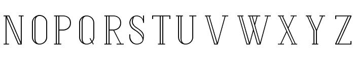 Hermione-Regular Font LOWERCASE