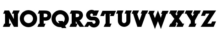 Herne Bold Font UPPERCASE