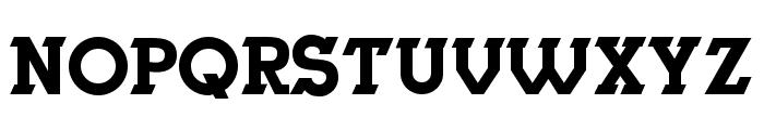 Herne Regular Font UPPERCASE