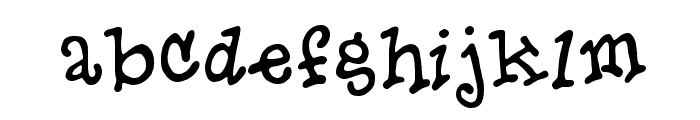Hero Of Fools Font LOWERCASE