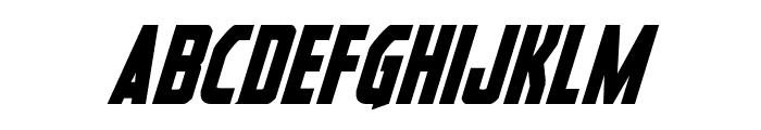 Heroes Assemble Bold Italic Font LOWERCASE