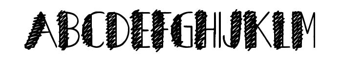 Herons Nest Font UPPERCASE