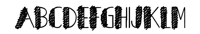 Herons Nest Font LOWERCASE