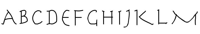 HerrCoolesWriting Font UPPERCASE