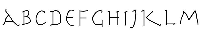 HerrCoolesWriting Font LOWERCASE