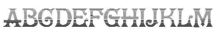 HerrFoch Gradient Font UPPERCASE